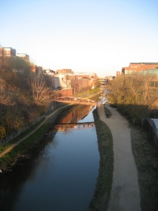 View of the Georgetown Canal