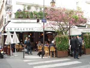 La Palette in Paris, France