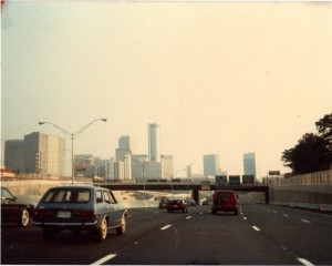 Atlanta, Georgia Skyline circa 1984